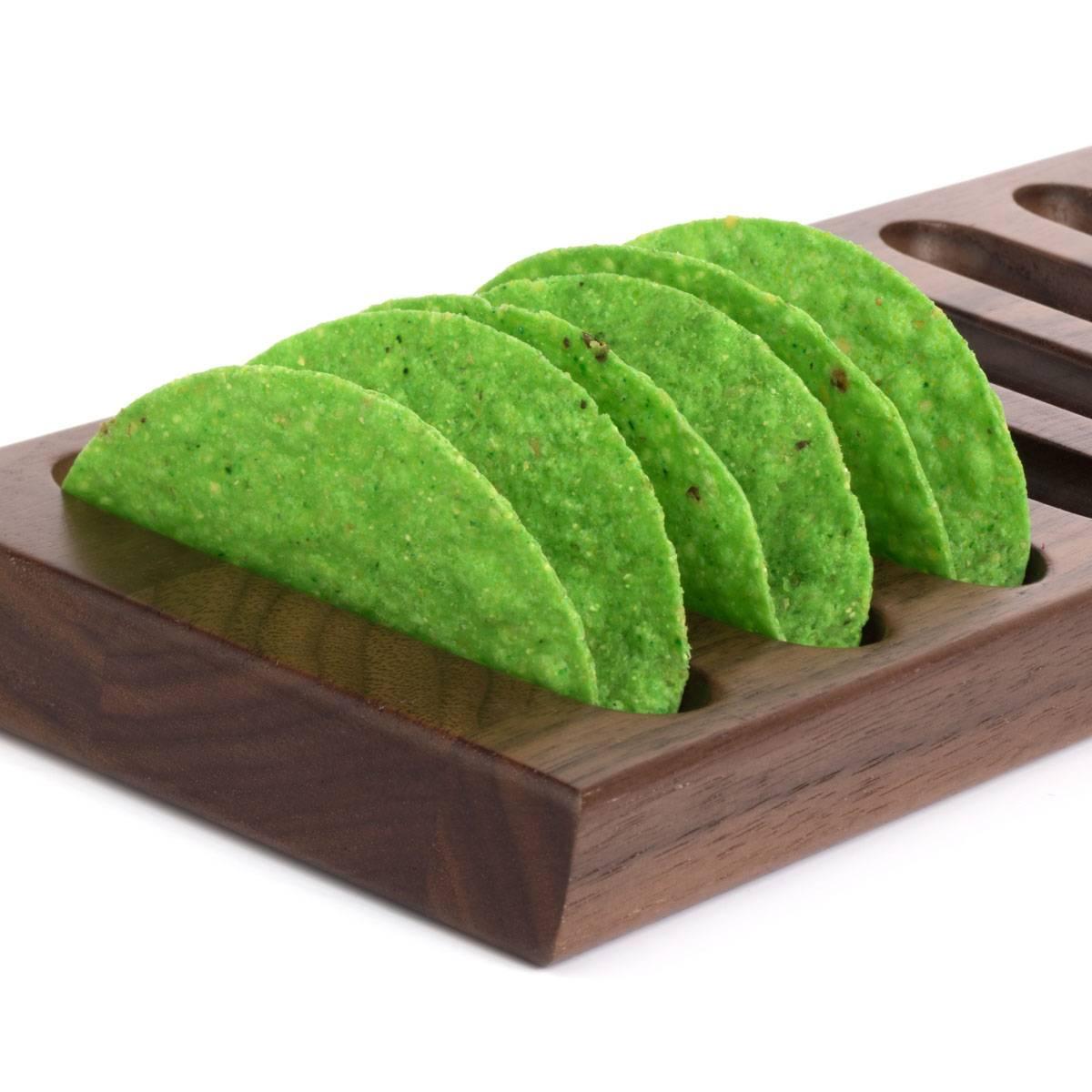 Green Mini Taco Shells